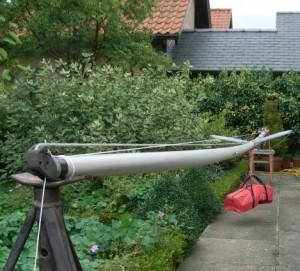 British Moth Mast Bend Test